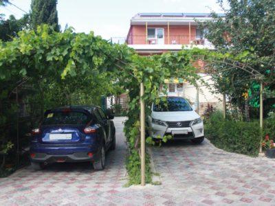Автостоянка - Частный пансионат «Леман»