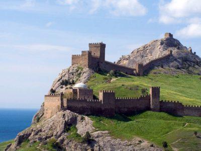 Руины Генуэзской крепости